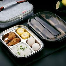 Stainless Steel Thermal Bento Insluted Lunch Box Food Container with Compartment