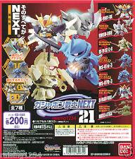 BANDAI SD Gundam Next 21 Gashapon Figure (Set 7 pcs) Double X Gouf Bertigo Neo