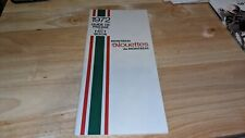 1972 Montreal Alouettes CFL Canadian Football Guide