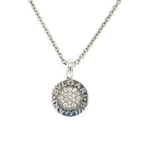 Bvlgari Bvlgari Diamond Reva Necklace 18k White Gold