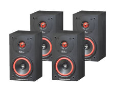 "(4) CERWIN VEGA SL-5M 125W 5"" BOOKSHELF SPEAKERS / SURROUND SOUND / Auth Dealer"