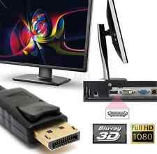 New Full HD DP Display Port Male to HDMI Female Adapter Converter Cable 4K*2K