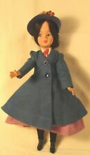 """Vintage 1960s 12"""" Mary Poppins Doll by Horsman - All Original"""