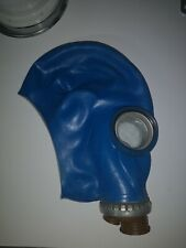 Masque a gaz russe peint en bleu GP5