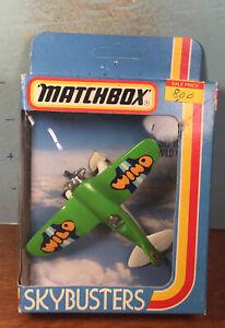Vintage 1981 Matchbox Int'l SB-18 Sky Busters Wild Wind In Box