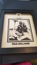 Paul Williams First American Song Festival 1974 Rare Promo Poster Ad Framed!