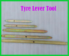 Set of TYRE LEVERS CHANGE FOR MOTORCYCLES VANS CAR SCOOTER QUADS WHEELBARROW