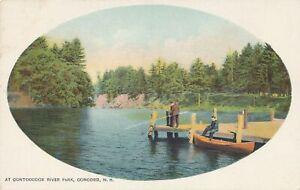 CONCORD NH - At Contoocook River Park - udb (pre 1908)