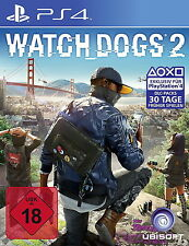 Watch Dogs 2 (Sony PlayStation 4, 2016, DVD-Box)