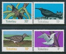 1977 TOKELAU BIRDS SET OF 4 FINE MINT MNH