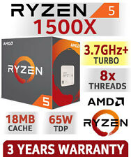 AMD RYZEN 5 1500X 4-Core 3.5 GHz Socket AM4 65W YD150XBBAEBOX Desktop Processor