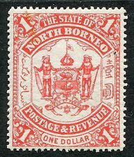 Mint Never Hinged/MNH Single North Bornean Stamps