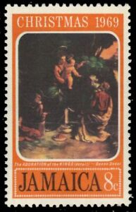 """JAMAICA 294 (SG295) - """"The Adoration of the Kings"""" by Dosso Dossi (pa90356)"""