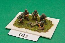 SGTS MESS G15 1/72 Diecast WWII German Anti-Tank Gun Crew-5 Figures