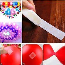 100 pcs/Rollen doppelseitig Ballon Aufkleber  Klebpunkte Klebeband Festtag Dekor