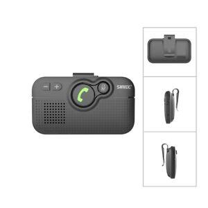 SUNITEC Hands Free Wireless Bluetooth Car Kit Speakerphone Voice Guidance