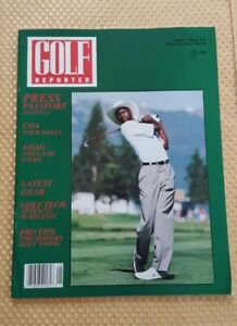 GOLF REPORTER MAGAZINE with Picture of Michael Jordan Golfing on Cover 1994
