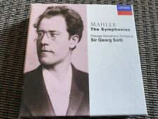 Mahler The Symphonies Solti London/Decca 10 Disc CD Box Set With Booklet -