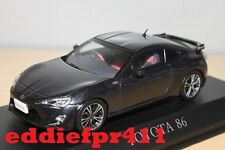 1/43 2012 TOYOTA 86 GT LIMITED COUPE IN GREY METALLIC BY KYOSHO J COLLECTION
