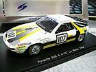 PORSCHE 928 S V8 Racing Le Mans 1984 #107 Boutinaud Renault Spark Resin 1:43