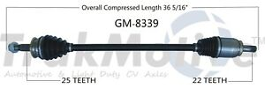 For Chevy Sonic 1.8L Aut Trans Front Pass Right CV Axle Shaft SurTrack GM-8339