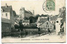 CPA - Carte Postale - France - Montargis - Le Château vu du Canal - 1907 ( I1110