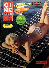 French vintage CINE REVUE 1963_Pinup MYLENE DEMONGEOT_JEANNE MOREAU_SOPHIA LOREN