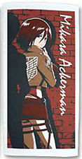 Attack on Titan Microfiber Bath Towel Mikasa Anime Manga NEW