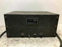Vintage Sorensen 1000-S Regulated Power Supply ARMY NAVY COOL OLD PROP