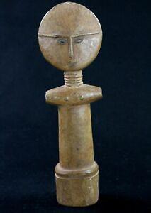 Art Africain Tribal - Ancienne Poupée de Fécondité Ashanti - Ghana - 27 Cms ++++