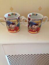Royal Worcester Noddy Cups Mugs X 2
