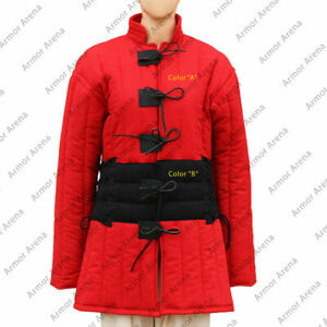 Best Item Medieval Gambeson Red color movies Theater SCA LARP