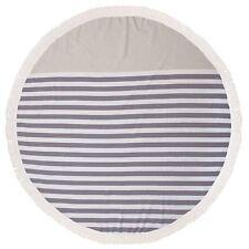 Turkish Round Beach Towel Lunar