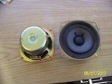 "SONY 1-505-755-11 4"" Speaker  8 ohm 4 watts set of 2"