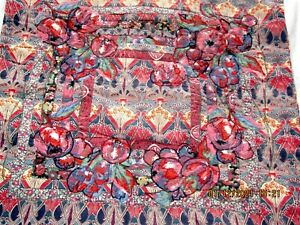 Lizzie Houghton vintage Embroidered Liberty print Cushion Cover