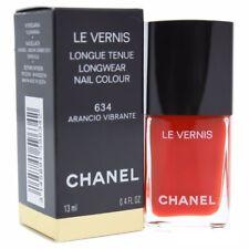 CHANEL Le Vernis LongWear Nail Colour Nail Polish 634 ARANCIO VIBRANTE 13ml