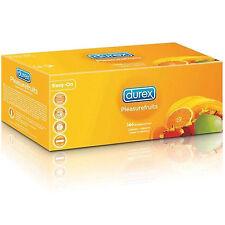 144 Profilattici Preservativi DUREX TROPICAL frutta Confezione sigillata CE