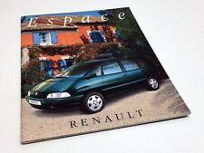 1996 Renault Espace Brochure - French