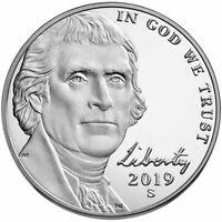 2019 S,P,D Liberty Nickels S Proof & P,D