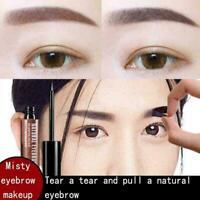 Tear and Dye Eyebrow CreamGel Long Lasting Waterproof with Brush Mak Pencil P9M2