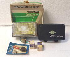 Phare DUCELLIER DIAMANT 2000 Anti-brouillard DBA + cache boîte no marchal neuf