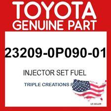 TOYOTA GENUINE 232090P09001 INJECTOR SET, FUEL 23209-0P090-01