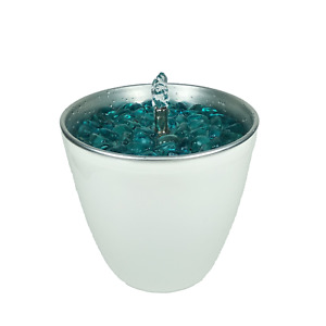 Water Feature Fountain Indoor Tabletop C white by Georgio