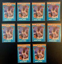 1990-91 Fleer All Star Michael Jordan (10) Card Lot