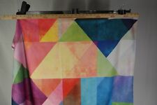 Kess InHouse Colorful Rainbow Abstract Dog Blanket 40 X 30 Inch .T3