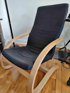 Living Room Solid Wood Backrest chair