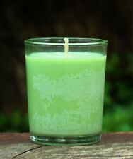 40hr ABSINTHE Triple Scented ORGANIC SOY Jar Votive Candle TURKISH INCENSE GIFTS