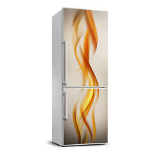 Removable Home Refrigerator Wall Sticker Magnet Decor Modern Waves abstraction