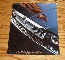 Original 1989 Jaguar Sedan Sales Brochure 89 XJ6 Vanden Plas