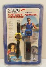 VINTAGE Speedo Wireless Heart Rate Monitor Watch Fitness Pedometer NEW